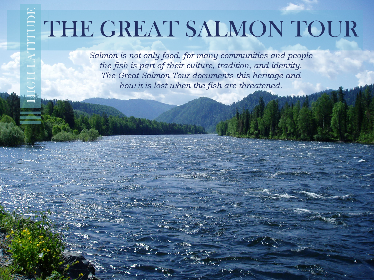 Great Salmon Tour Frontpage